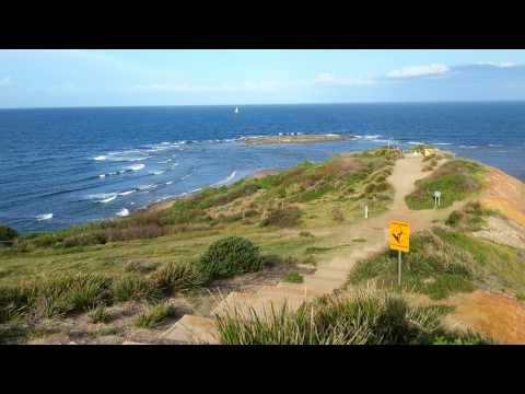 360 degree view of Dee Why Beach, Sydney Australia 美麗澳洲悉尼海灘