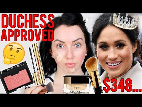 MEGHAN MARKLE MADE ME BUY IT! 馃憫 Testing the Duchess's Favorite Makeup...