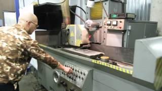 видео Плоскошлифовальный станок 3Л722В