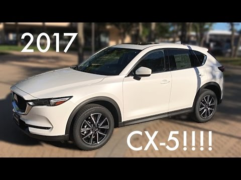 The Perfect Family Crossover?!---2017 Mazda CX-5 Review