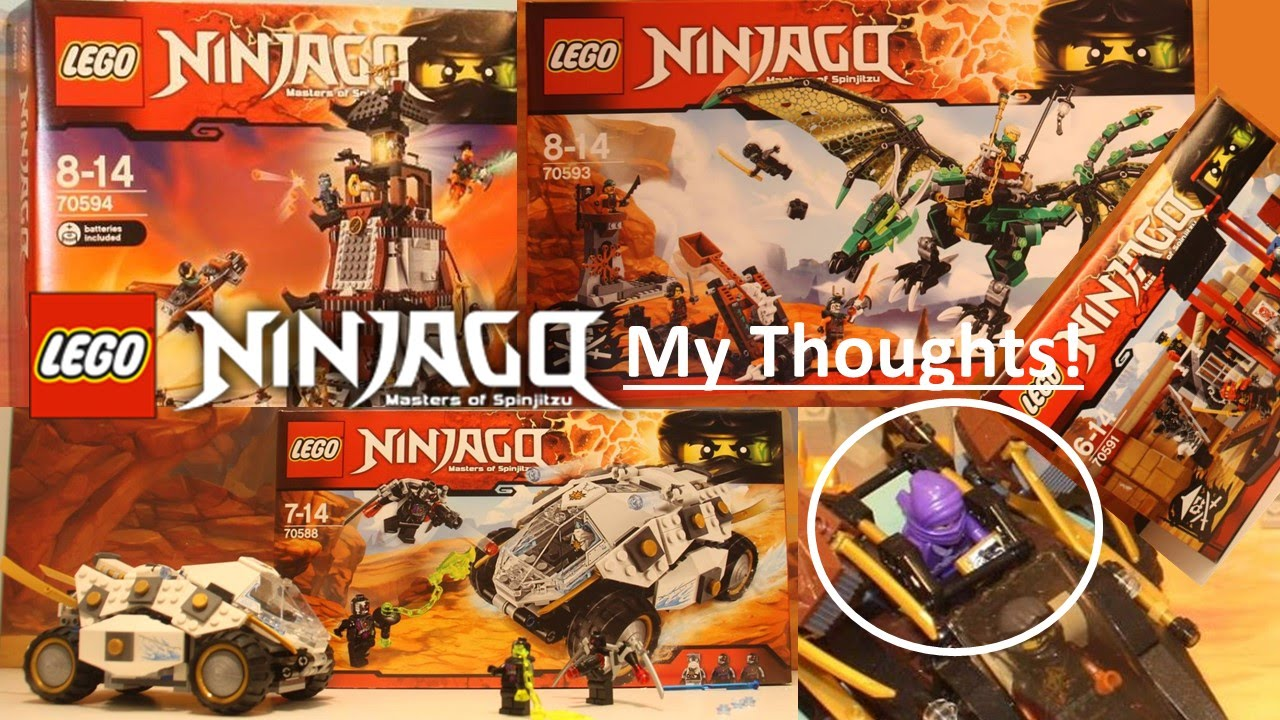 Official LEGO Ninjago Summer 2016 Sets - My Thoughts ...