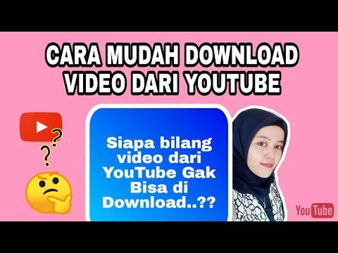 CARA MUDAH DOWNLOAD VIDEO DARI YOUTUBE Ke Galeri Hp - How To Download Videos On YouTube