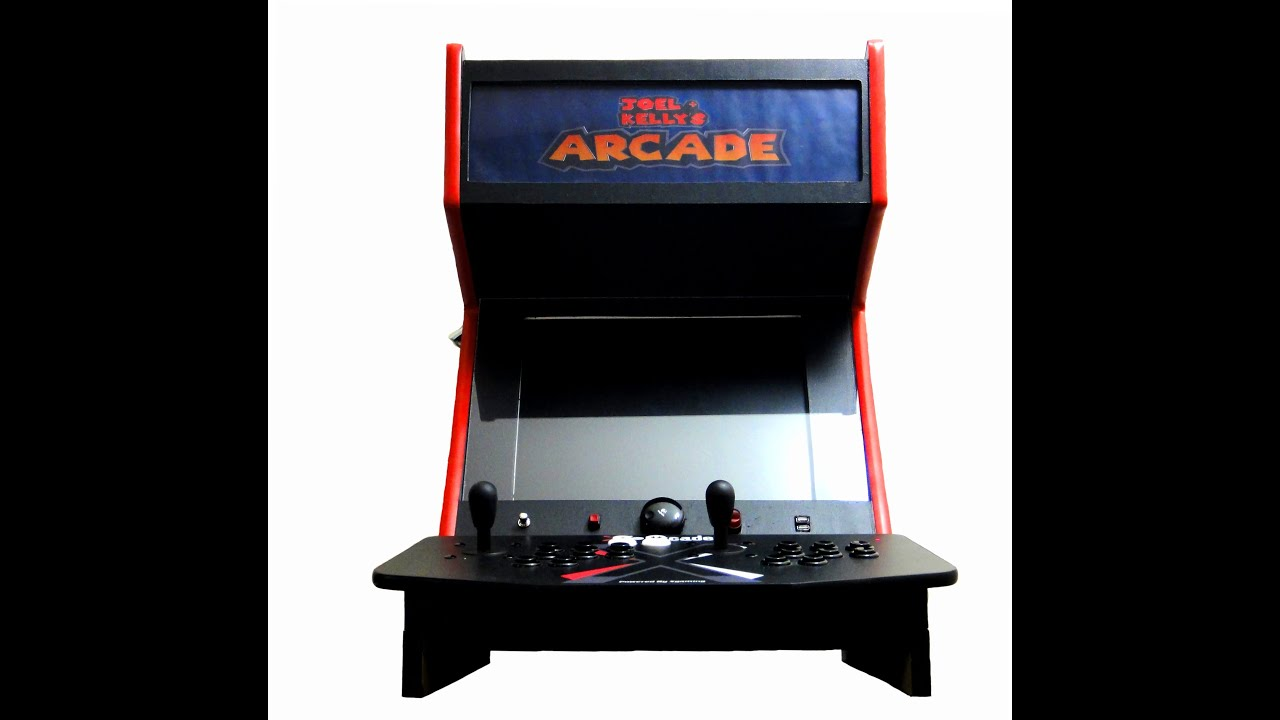 Homemade Arcade Machine Youtube