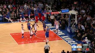 NBA: DeAndre Jordan's Dazzling Dunking Display in NYC