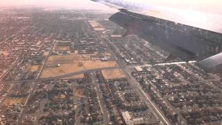 Southwest Airlines Boeing 737-500 Landing El Paso, TX coming from Dallas Love Field, TX RWY 26L