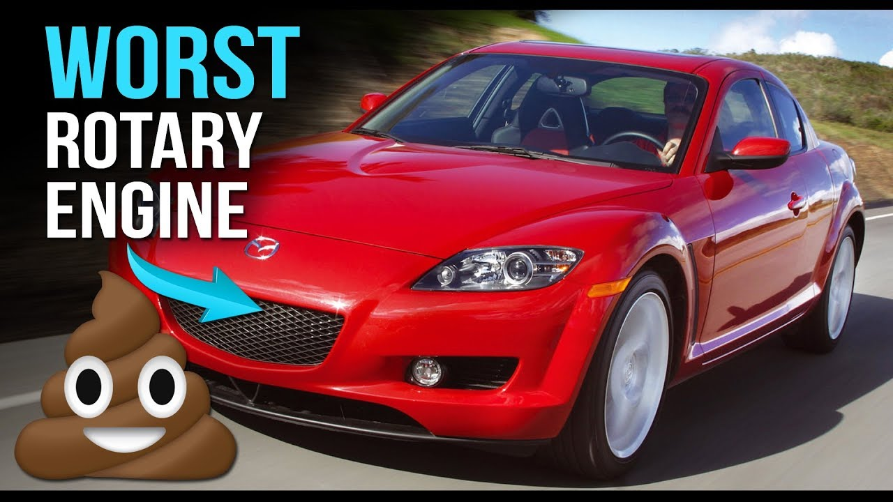 Why the Mazda RX-8's Rotary Isn't as Good as the RX-7's