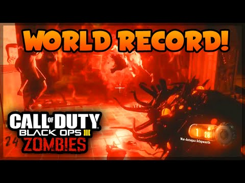 """Black Ops 3 Zombies """"Shadows of Evil"""" WORLD RECORD HIGHEST ROUND STRATEGY! (BO3 Zombies)"""