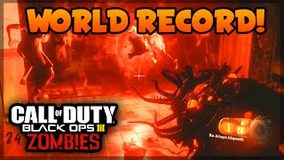 "Black Ops 3 Zombies ""Shadows of Evil"" WORLD RECORD HIGHEST ROUND STRATEGY! (BO3 Zombies)"