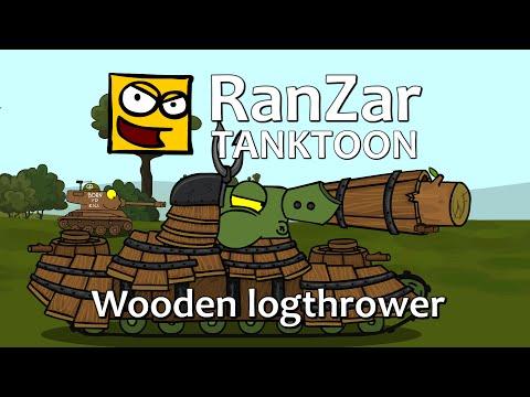 Tanktoon: Wooden Logthrower. RanZar