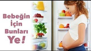 Hamilelikte Bebeğin Kilo Alması ve Gelişmesi İçin Ne Yemeli?