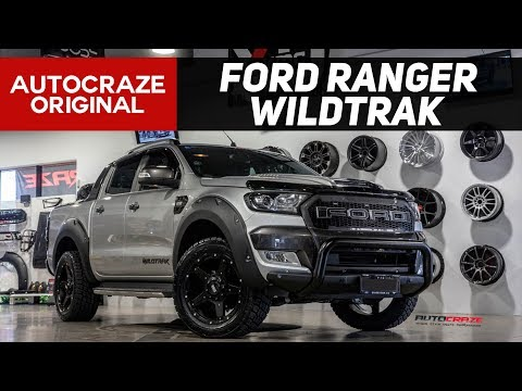 WAR MACHINE // FORD RANGER BUILD - Wheels, Tyres, Nudge Bar, Flares +more | Grid GD04 |  2017