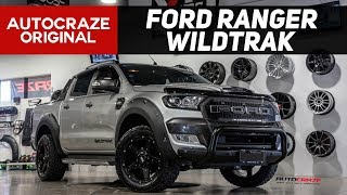 WAR MACHINE // FORD RANGER BUILD - Wheels, Tyres, Nudge Bar, Flares +more | Grid GD04 |  2017