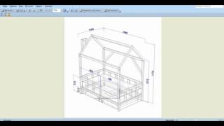 Проектирвание детской кровати в Базис-Мебельщик 8
