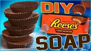 DIY Reese's Peanut Butter Cup Soap! | Wash Your Hands With Reese Cups!