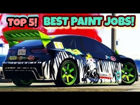 TOP 5 AWESOME PAINT JOBS FOR THE NEW VAPID FLASH GT! | GTA 5 ONLINE