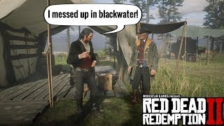 Dutch Apologizes for Blackwater | Red Dead Redemption 2 Video