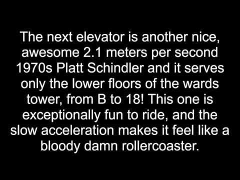 UEE: 70s Platt-Schindler/Generic traction elevators @ Guys Hospital
