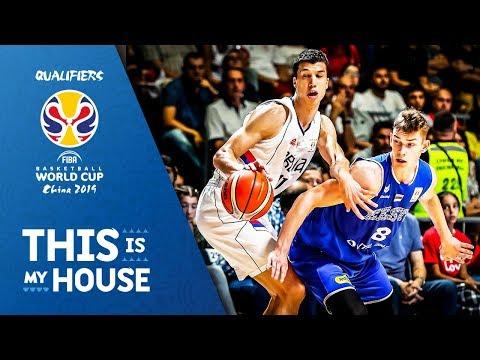 Serbia v Estonia - Full Game - FIBA Basketball World Cup 2019 - European Qualifiers