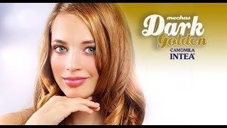 Mechas Dark golden (Tonos dorados). Cabellos castaños oscuros o morenos. Con INTEA thumbnail