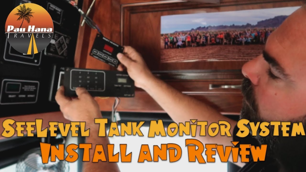 Detailed Installation Of Our 709 Seelevel Ii Rv Tank Monitoring Monitor Wiring Diagram System