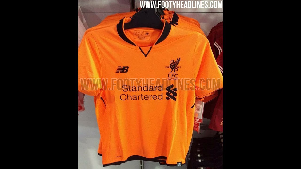 9a741c369 LEAKED  Liverpool Third Kit 2017 18 - YouTube