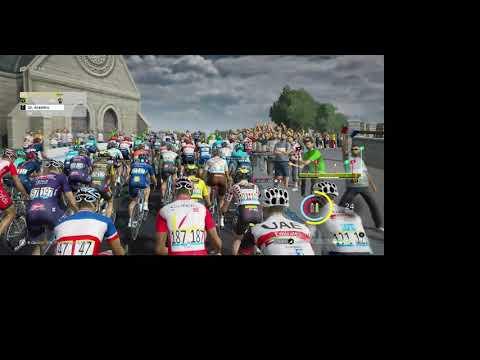 TDF 2021 Game, Stage 4 of Tour De France as Jumbo Visma |