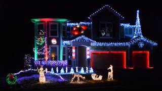 2015 Christmas Light Show