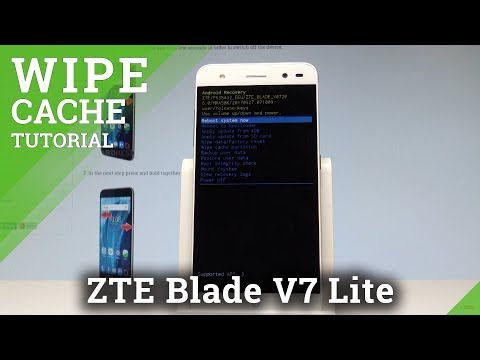 How to Wipe Cache Partition in ZTE Blade V7 Lite |HardReset.info