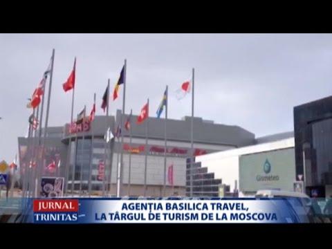 Agenția BASILICA Travel, la Târgul de turism de la Moscova