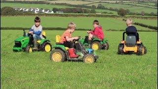 Tractors For Kids - John Deere, Tractor Videos