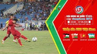 Quang Hải kiến tạo, Công Phượng ghi bàn nâng tỷ số lên 2-1 cho U23 Việt Nam  | VFF Channel