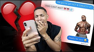 CATFISHING my Girlfriend to see if she cheats.. *SHE DOES*