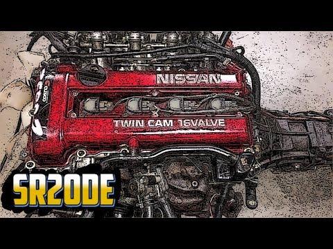 Двигатель Nissan 2 литра (1989-2002) -- SR20DE