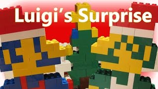 Repeat youtube video Luigi's Surprise: Short Christmas Lego Stop Motion