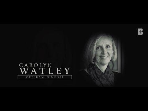 Carolyn Watley: Offeramus Medal Recipient - Benedictine College
