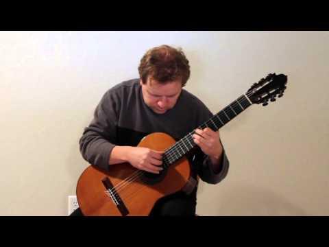 Alan Skowron performs Study #1 by Heitor Villa-Lobos