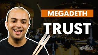 TRUST - Megadeth (aula de bateria)