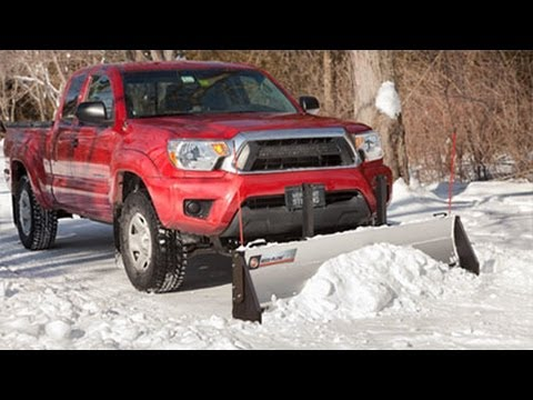 The Affordable Snow Plow from DR