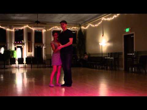 Cool East Coast Swing Moves - Learning a Routine of Moves