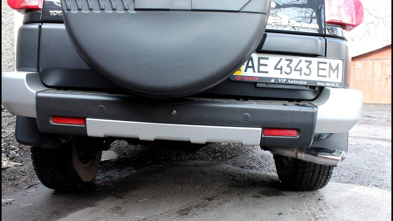 Toyota Fj Cruiser Accessories >> Toyota FJ Cruiser TRD Exhaust Rev - YouTube
