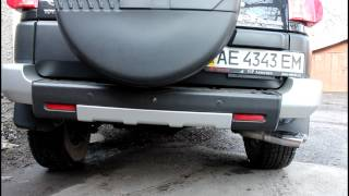 Toyota FJ Cruiser  TRD Exhaust Rev