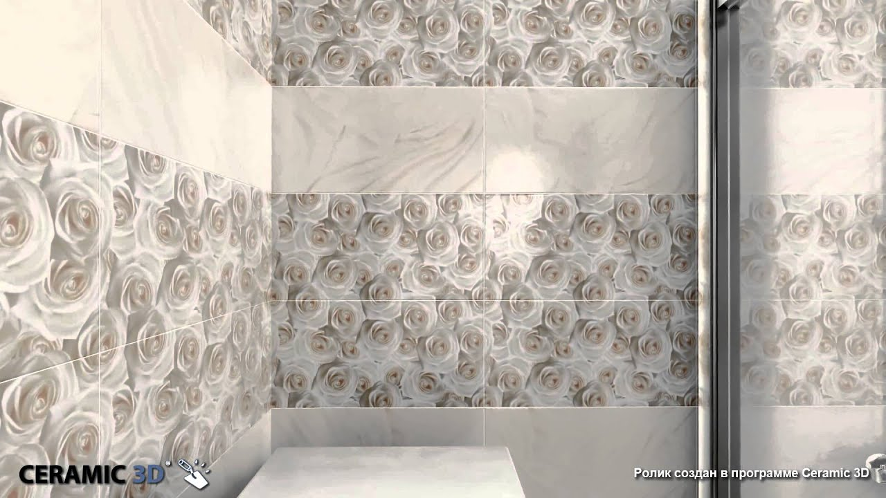 керамическая плитка камелия в интерьере фото