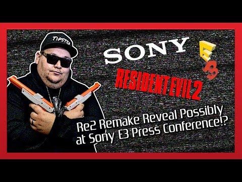 RE2 REMAKE MAKING ITS DEBUT DURING SONY'S E3 PRESS CONFERENCE!?