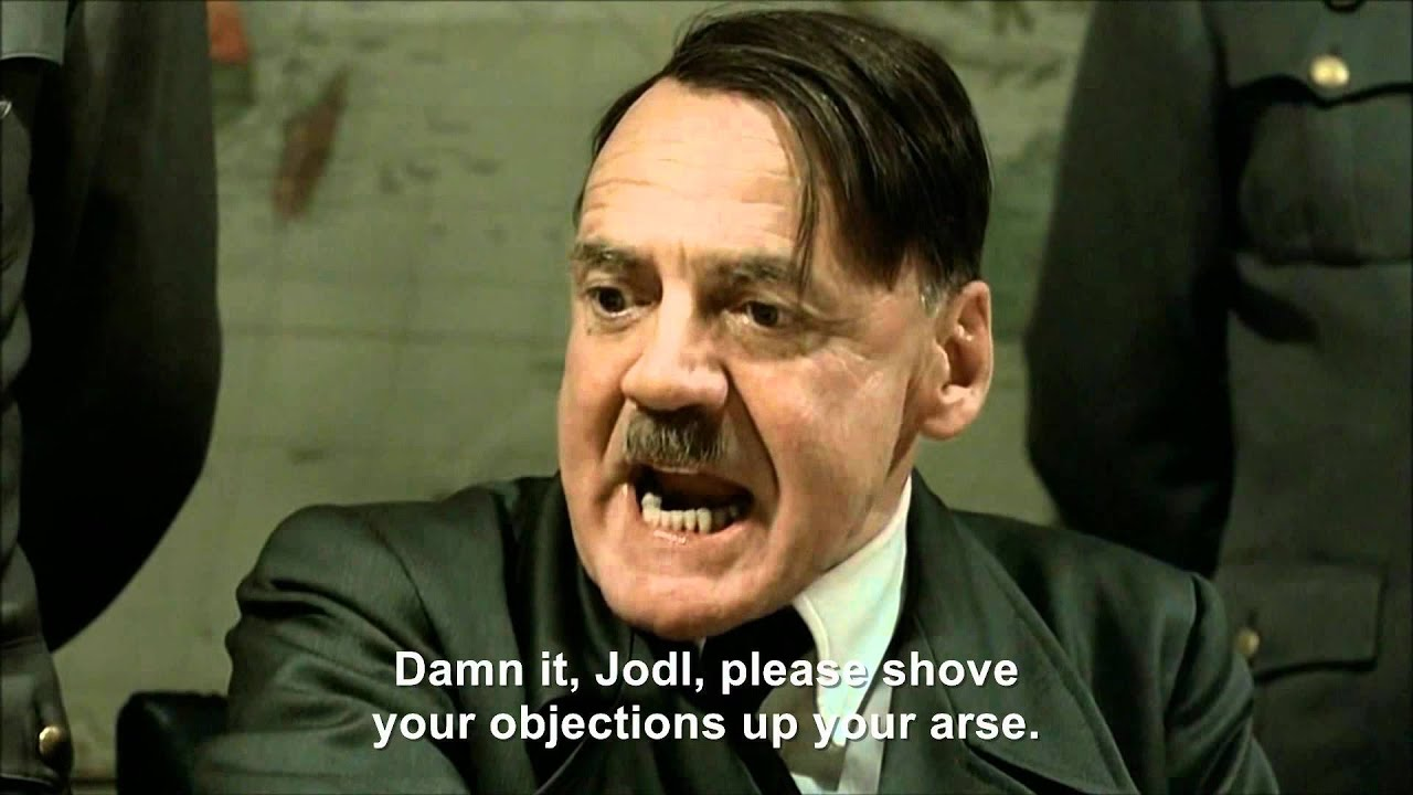 Hitler attacks President Sarkozy