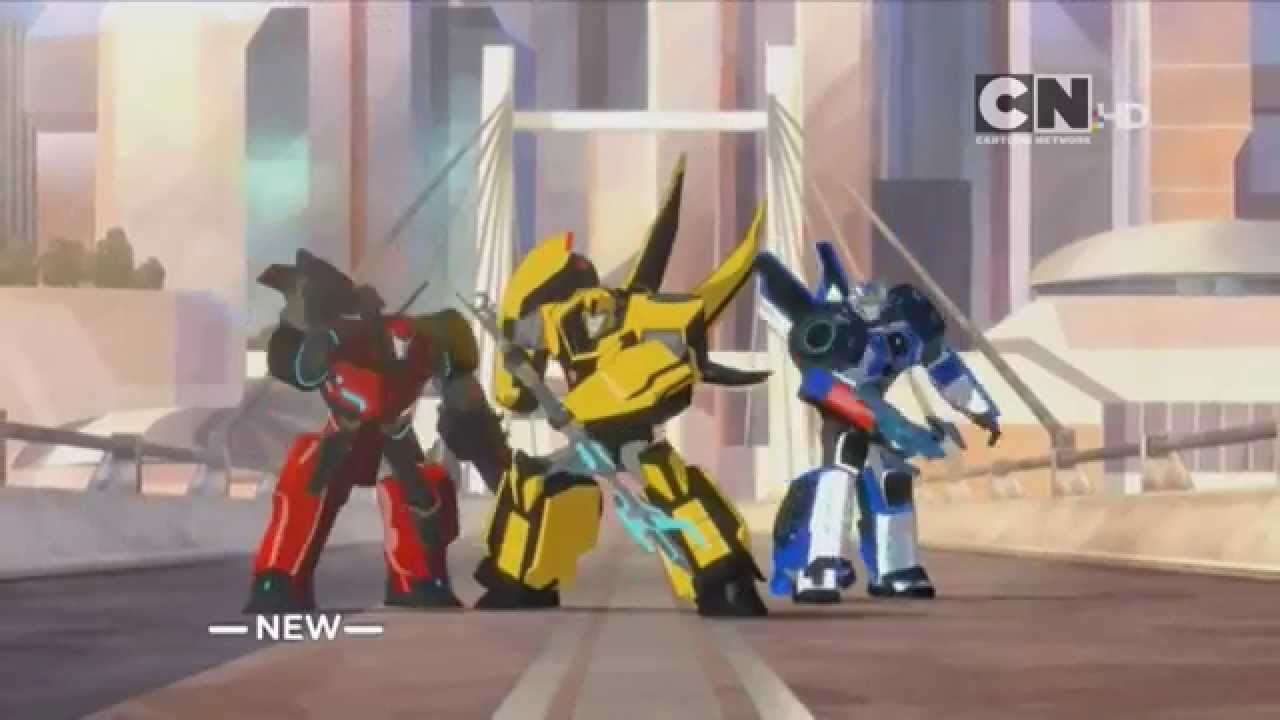 Cartoon Network Uk Hd Transformers Robots In Disguise New Show Promo Youtube