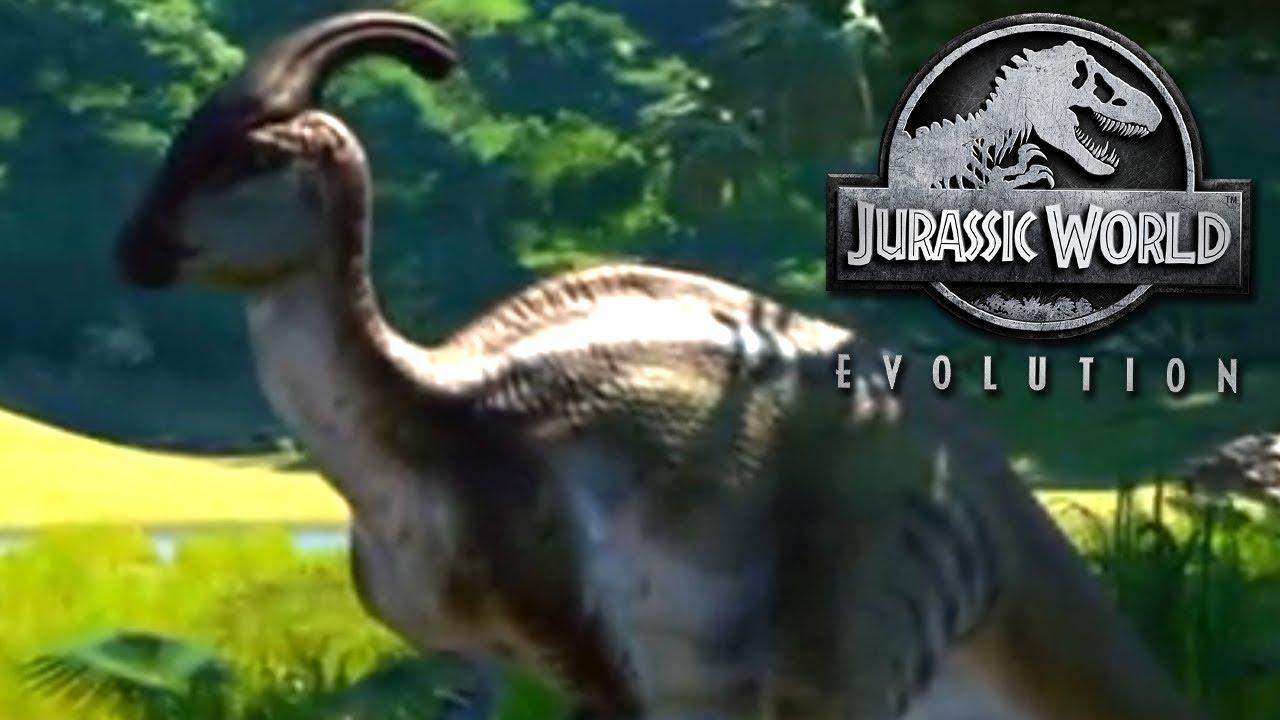 Jurassic World Evolution : Parasaurolophus Showcase