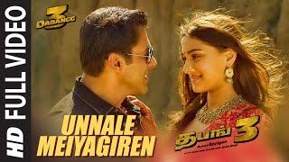 Unnale Meiyagiren Video | Dabangg 3 Tamil | Salman Khan | Kichcha S | Divya K,Shabab | Sajid Wajid