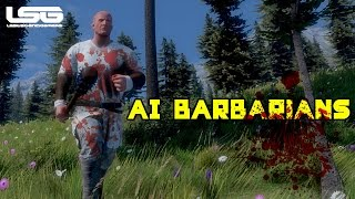 Medieval Engineers - Ai Barbarians, Total Nutters