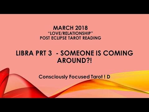 "MARCH 2018 LIBRA ""LOVE"" Prt 3 SOMEONES COMING AROUND?!"