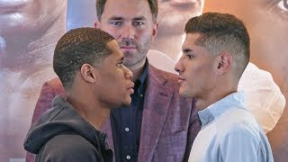 Devin Haney vs. Antonio Moran FACE TO FACE in Maryland | DAZN & Sky Sports Boxing